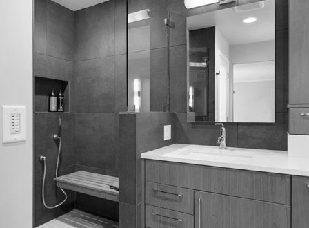 A Fresh Start - Bathroom Remodel - Kitchen Studio Kansas City