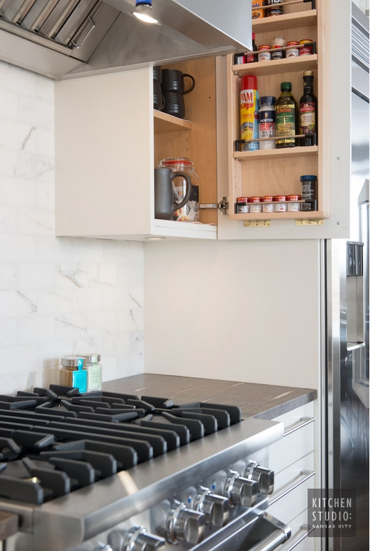 Plaza Condo Remodel - Kitchen Studio Kansas City